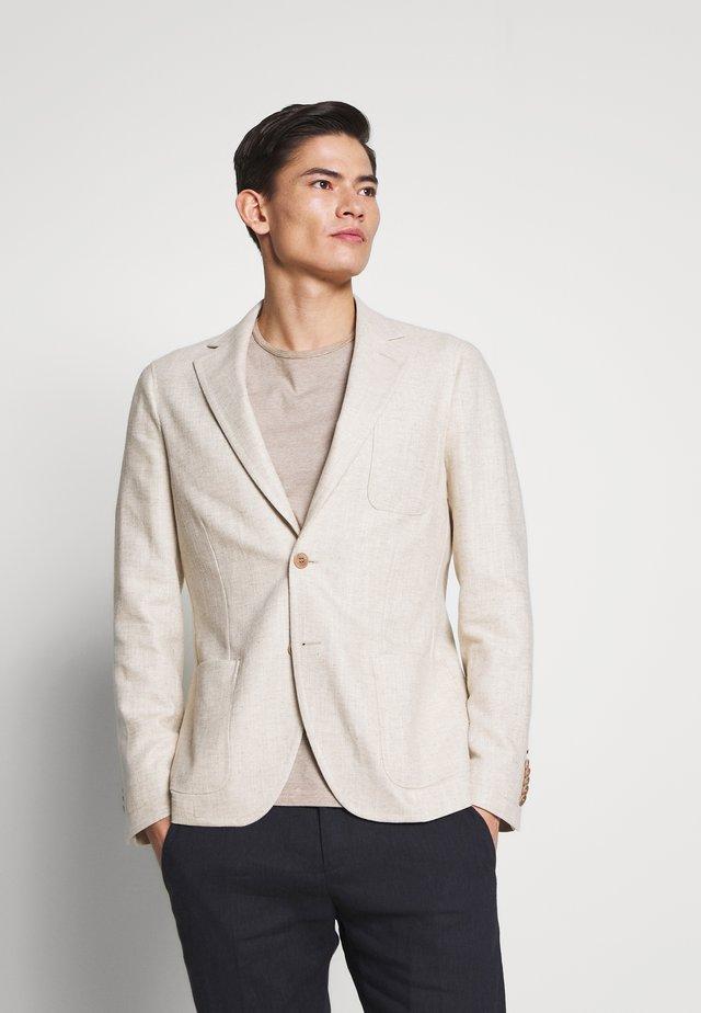 KARLSEN BLAZER - Suit jacket - sand