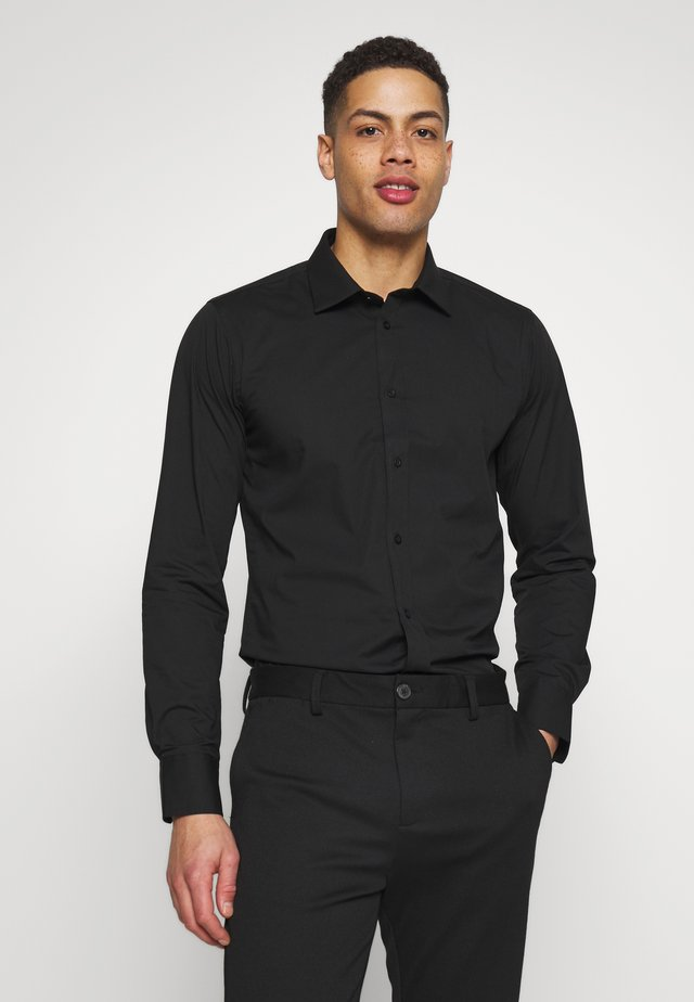 GUSTAV - Kostymskjorta - jet black
