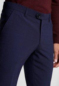 Bertoni - BLOCH TROUSER - Kalhoty - blue - 3