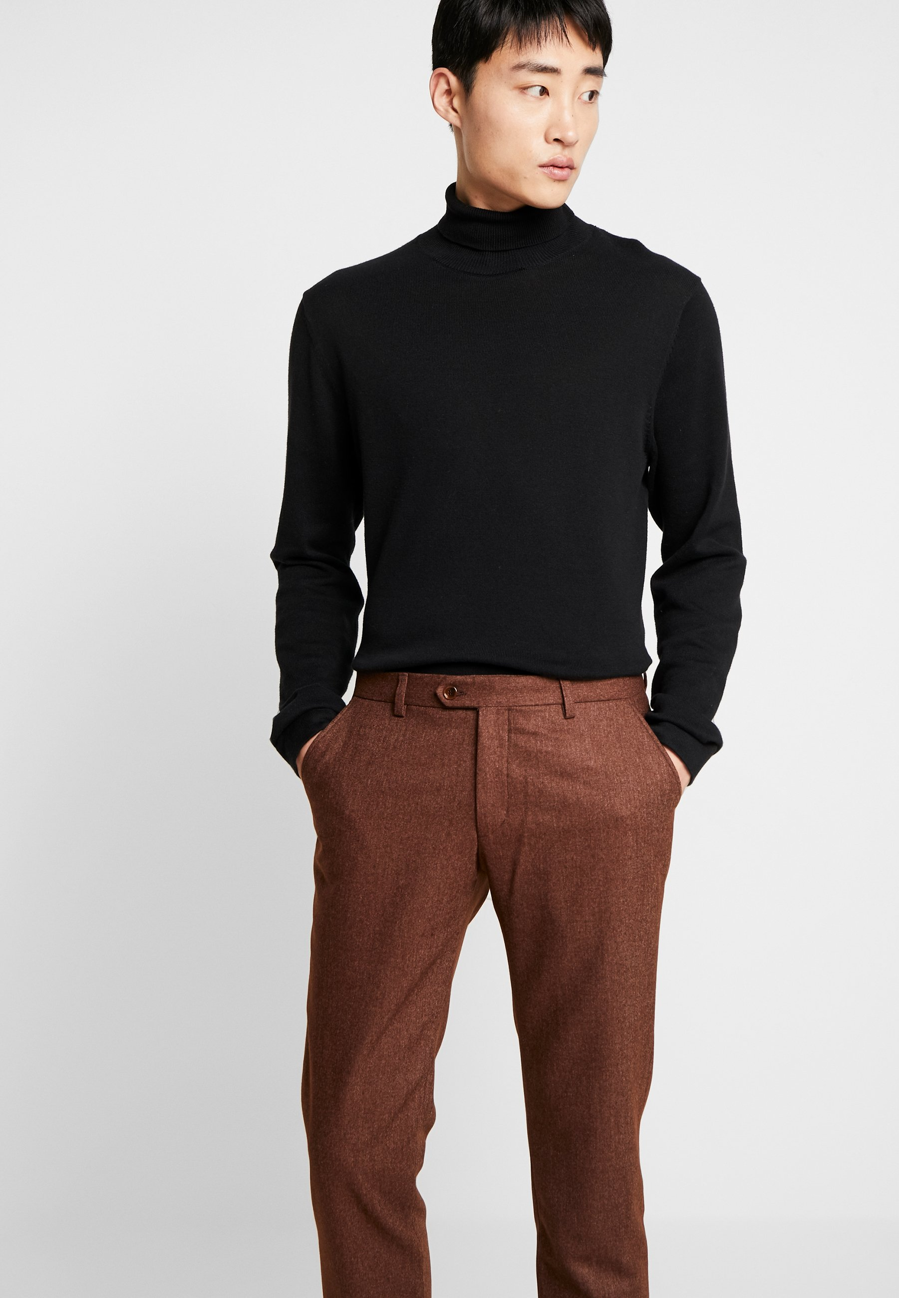 Bertoni Bloch Trouser - Pantalon Classique Light Brown