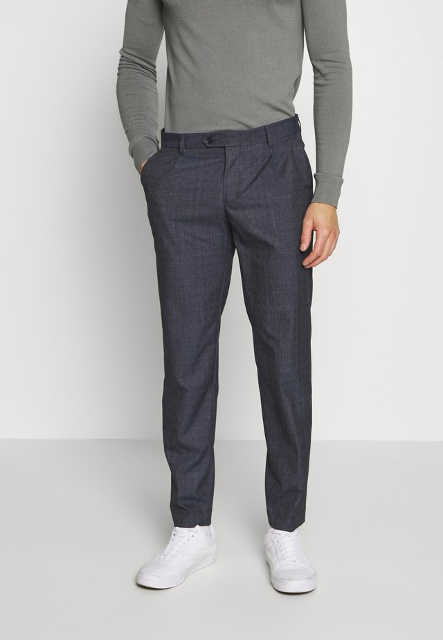 SHACK TROUSERS - Pantalon classique - dark blue