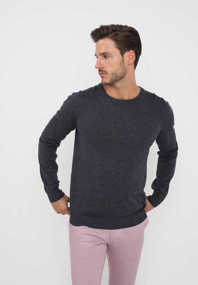 FREDERIK  - Stickad tröja - blue