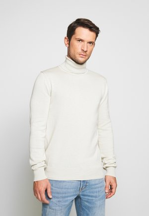 HENRIK ROLL NECK - Jumper - wood ash