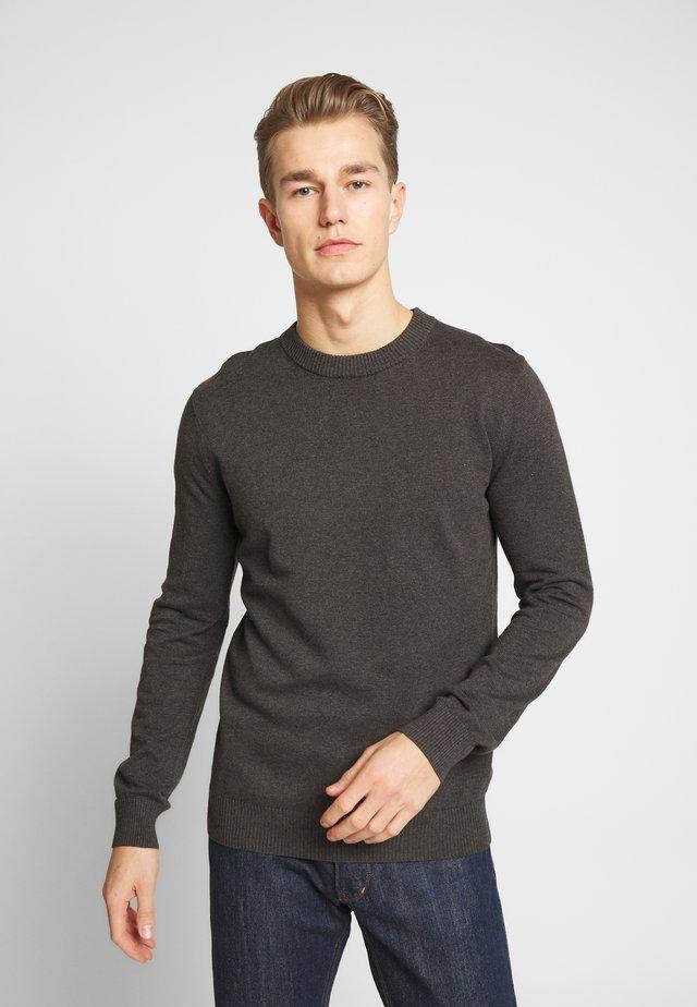 JONAS - Stickad tröja - anthracite