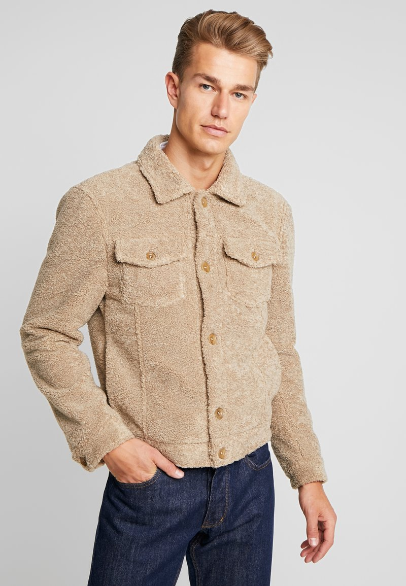 Bertoni - BORAAS - Fleece jacket - warm sand