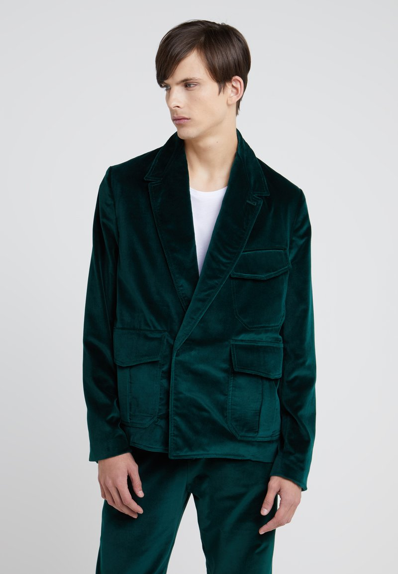 Band of Outsiders - UTILITY BLAZER - Anzugsakko - davos green