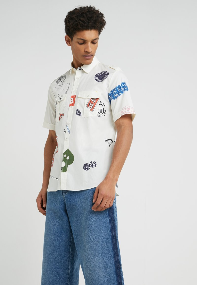 Band of Outsiders - UTILITY SHIRT - Shirt - white