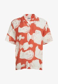 Band of Outsiders - HAWAIIAN SUMMER - Overhemd - poppy red - 3