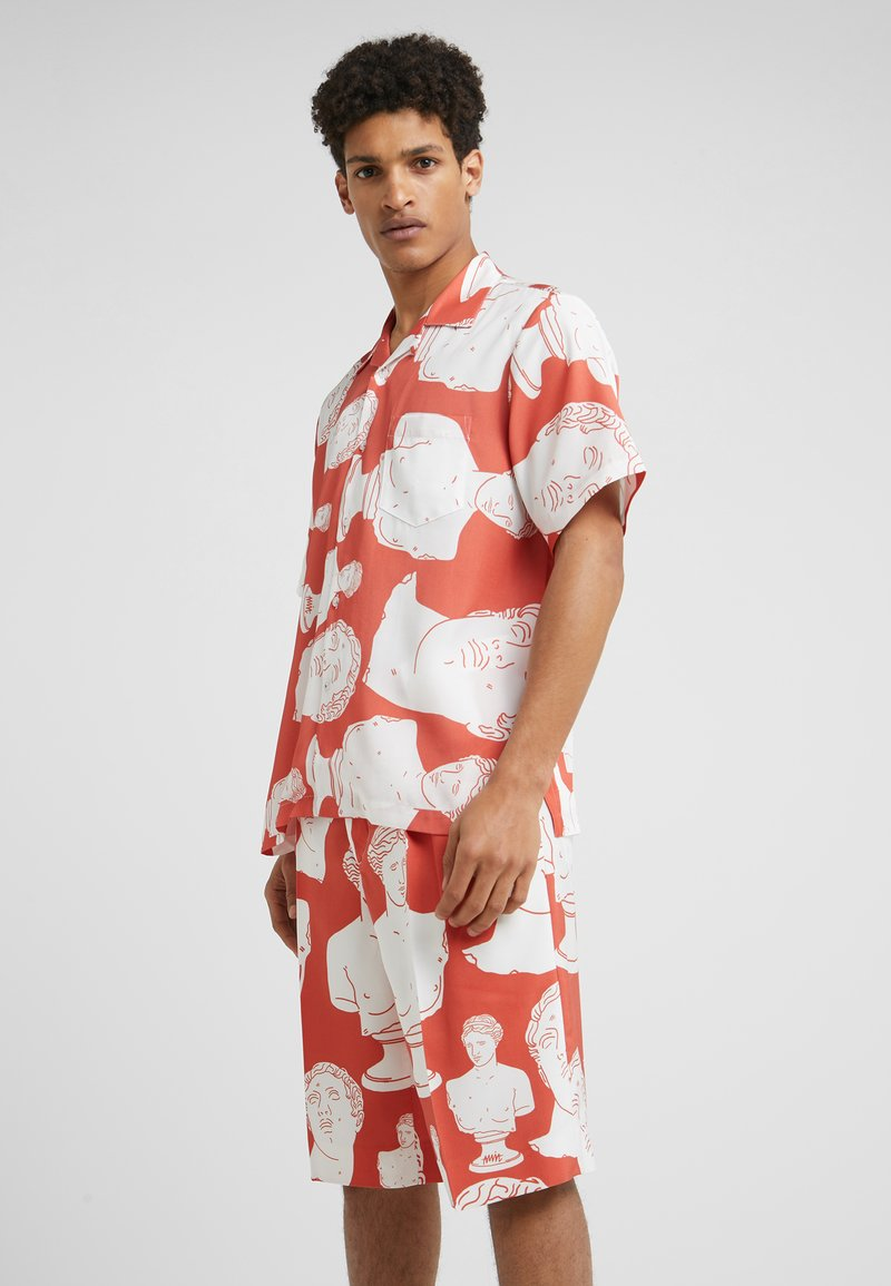 Band of Outsiders - HAWAIIAN SUMMER - Shirt - poppy red