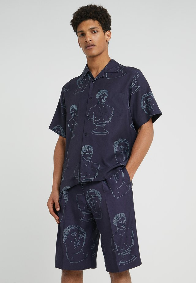HAWAIIAN SUMMER - Overhemd - navy