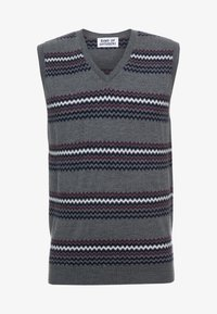 Band of Outsiders - FAIRISLE - Pullover - verbier grey - 3