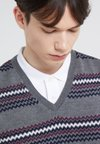 Band of Outsiders - FAIRISLE - Pullover - verbier grey