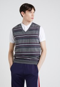 Band of Outsiders - FAIRISLE - Pullover - verbier grey - 0