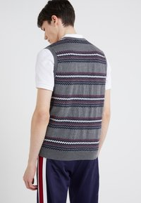 Band of Outsiders - FAIRISLE - Pullover - verbier grey - 2