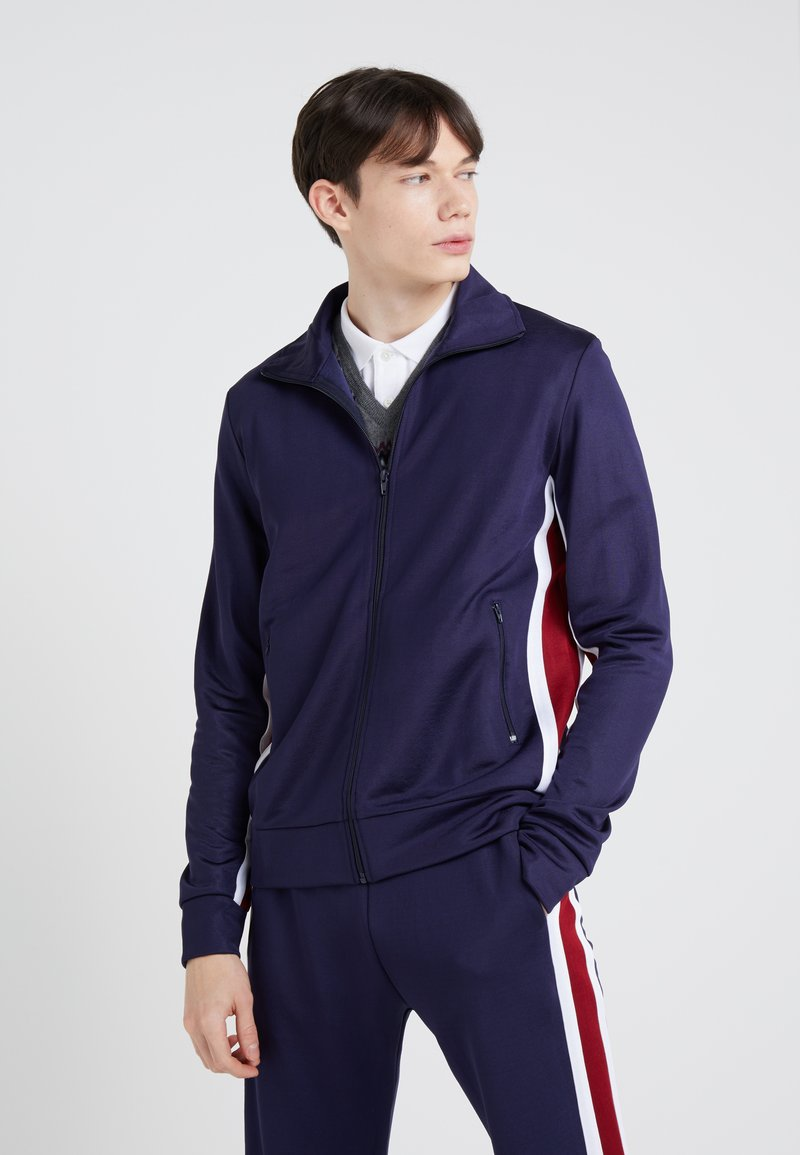 Band of Outsiders - TECH TRACK  - Gilet - kitzbuhel navy
