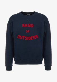 Band of Outsiders - BAND LOGO CREW NECK - Sweatshirt - navy - 3