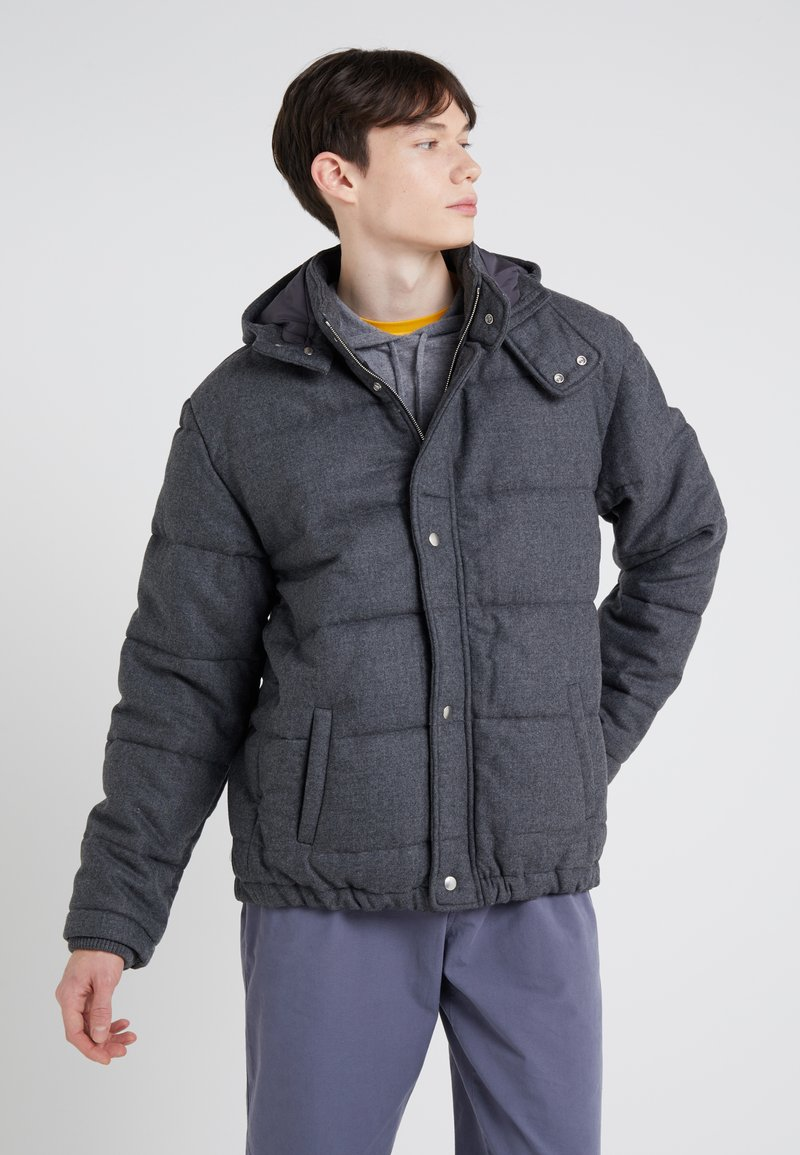 Band of Outsiders - BAND PUFFER - Light jacket - verbier grey