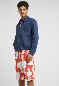 Band of Outsiders - COACH JACKET - Jeansjacke - navy - 0