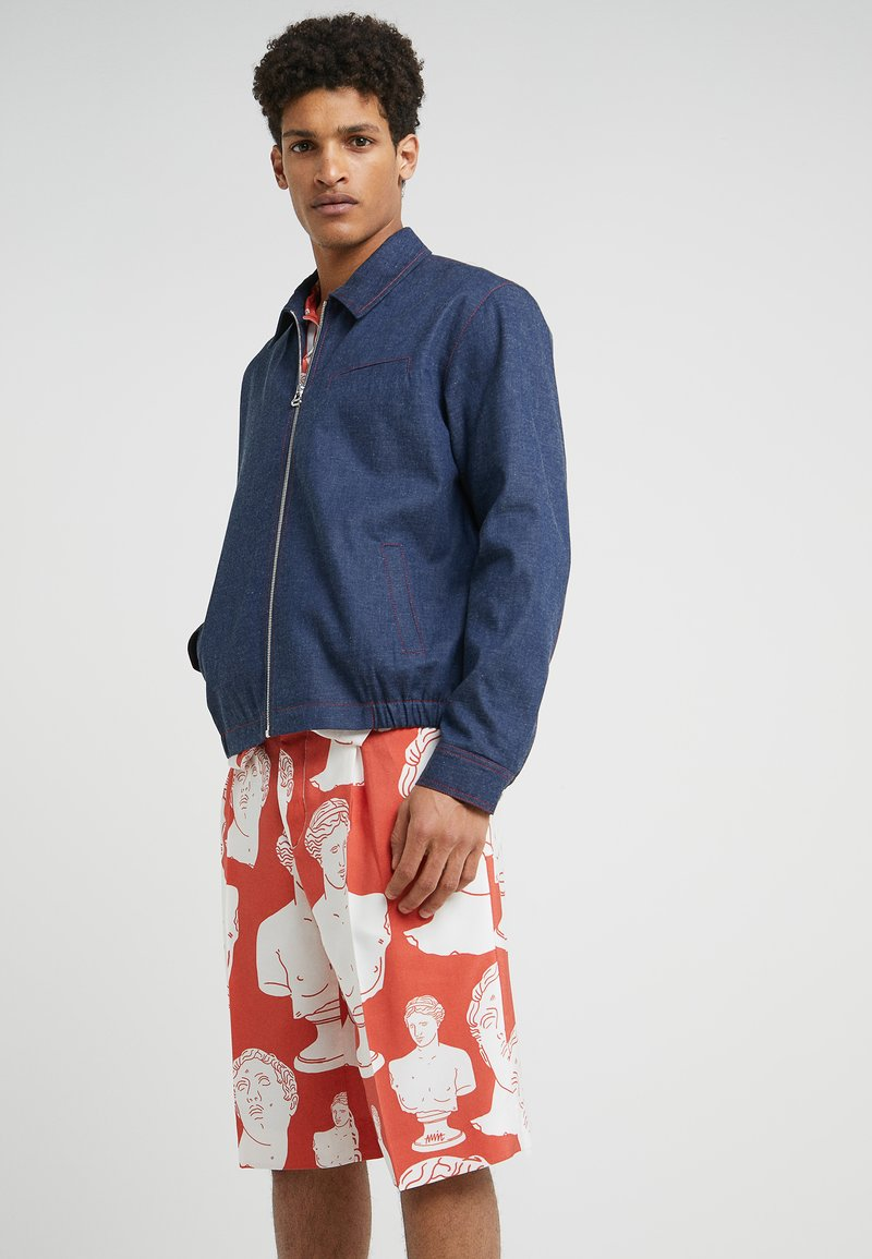 Band of Outsiders - COACH JACKET - Jeansjacke - navy