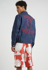 Band of Outsiders - COACH JACKET - Jeansjacke - navy - 2