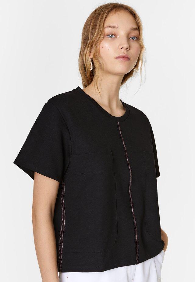 BIMBA Y LOLA - Print T-shirt - black