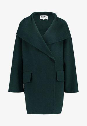 Halflange jas - dark green
