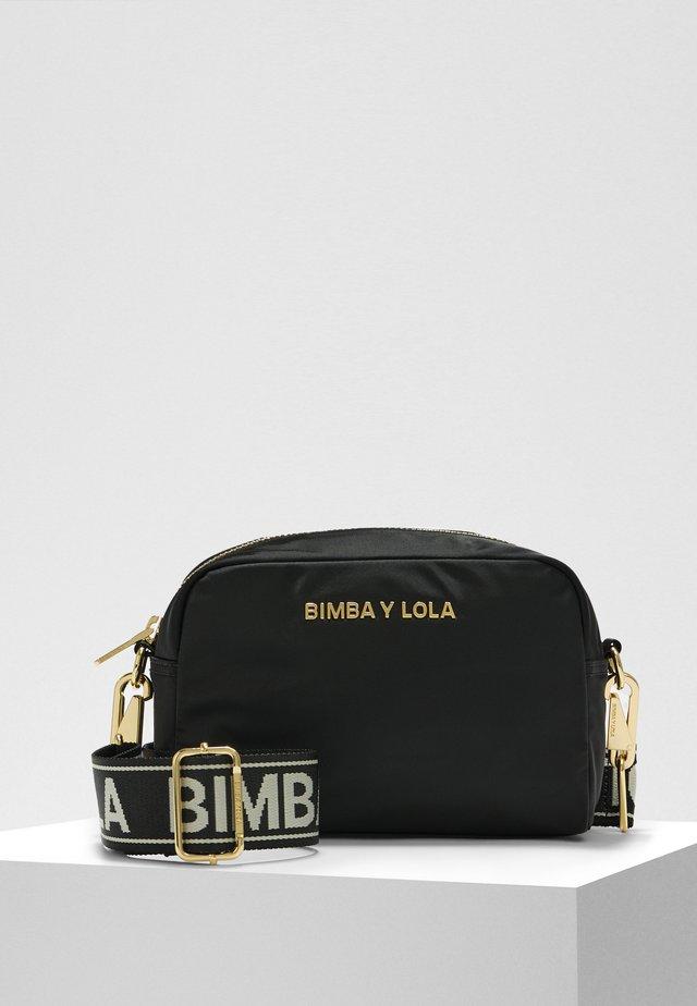 BIMBA Y LOLA S BLACK CROSSBODY BAG - Across body bag - black