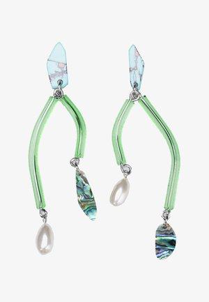 Earrings - turquoise