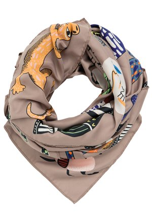 BIMBA Y LOLA TAUPE FOLK TALE SCARF - Schal - taupe