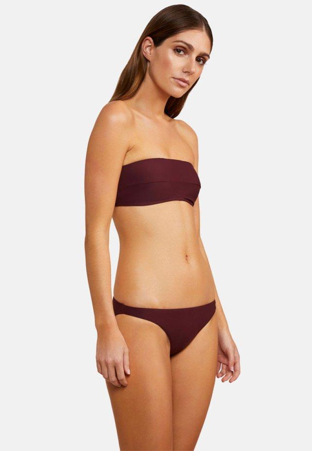 Bikinitop - burgundy