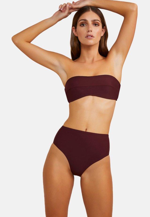 Bikinibroekje - burgundy