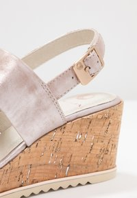 Be Natural - Plateausandalette - rose - 2