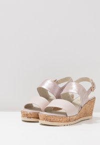 Be Natural - Plateausandalette - rose - 4