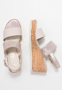 Be Natural - Plateausandalette - rose - 3