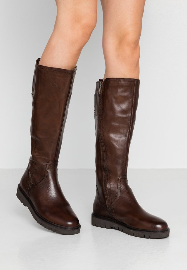 Stiefel - mocca