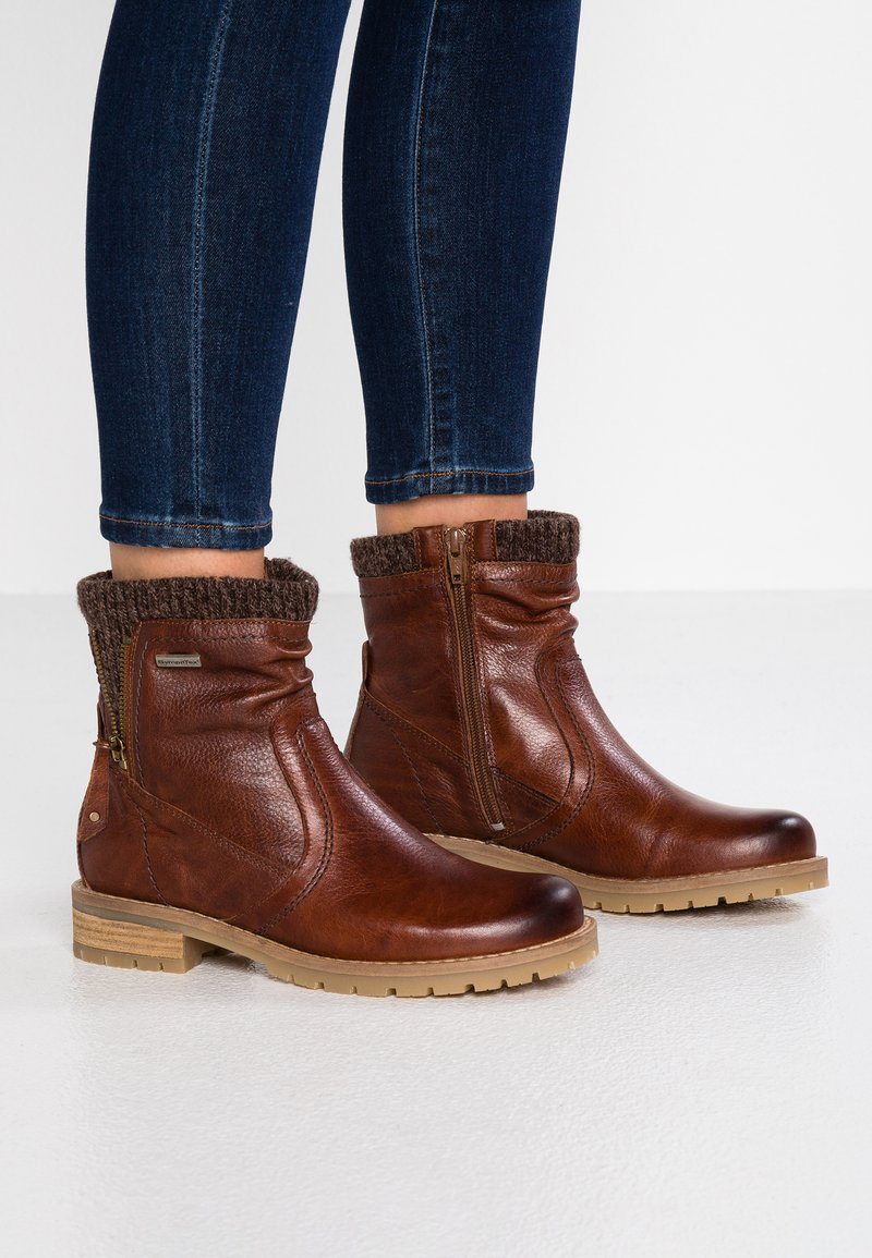 Be Natural - Stiefelette - cognac