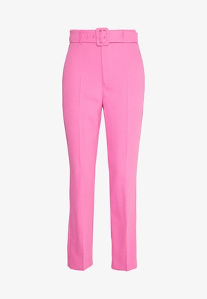 THERESE BUCKLE PANT - Trousers - pink pop