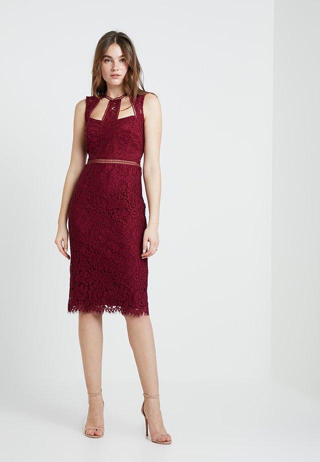 SPLICE PANEL DRESS - Cocktailkleid/festliches Kleid - boysenberry