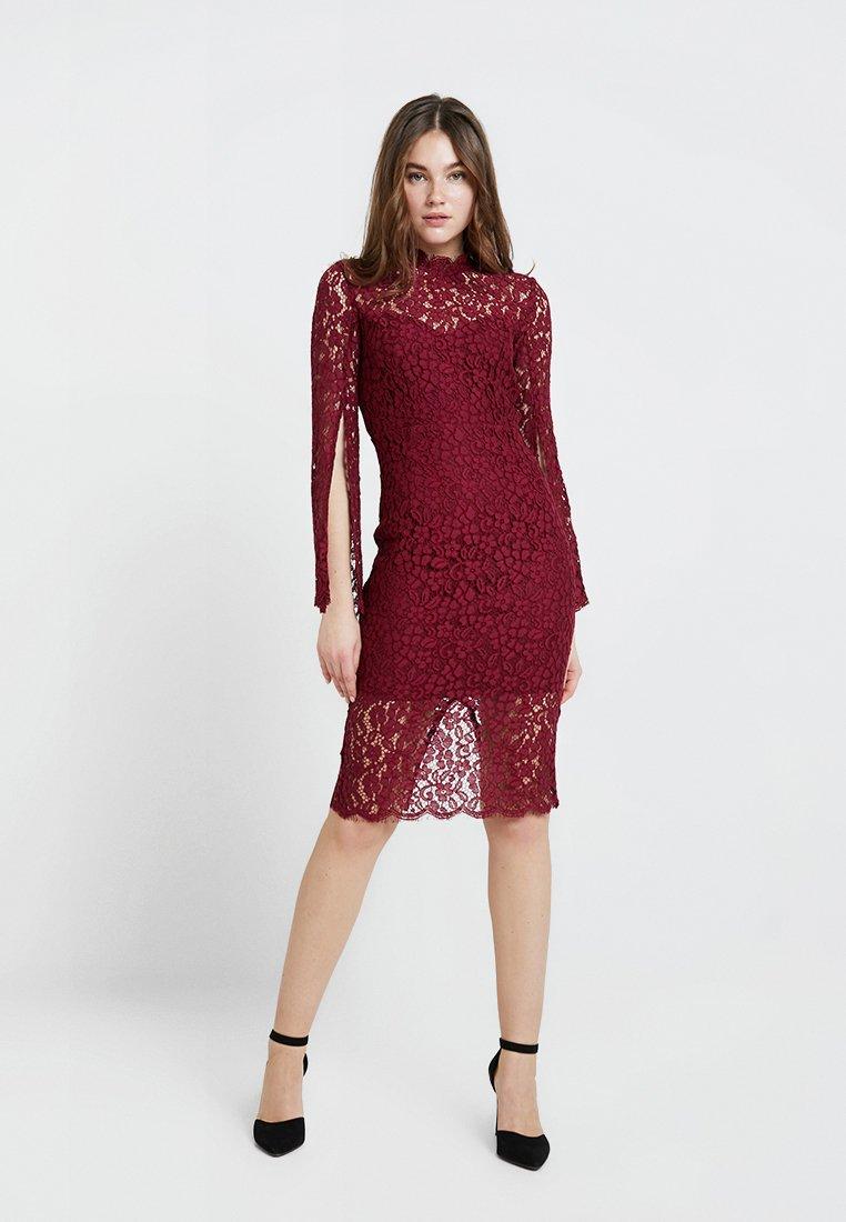 Bardot - SIENNA MIDI DRESS - Cocktail dress / Party dress - boysenberry