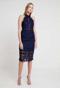 Bardot - NONI HALTER DRESS - Cocktail dress / Party dress - navy - 0