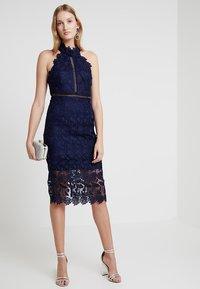 Bardot - NONI HALTER DRESS - Cocktail dress / Party dress - navy - 2
