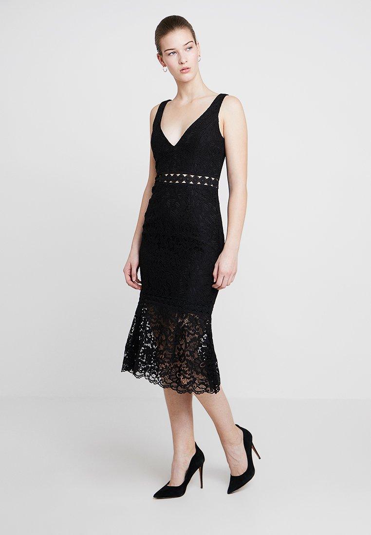 Bardot - FIONA TRUMPET DRESS - Cocktailkleid/festliches Kleid - black