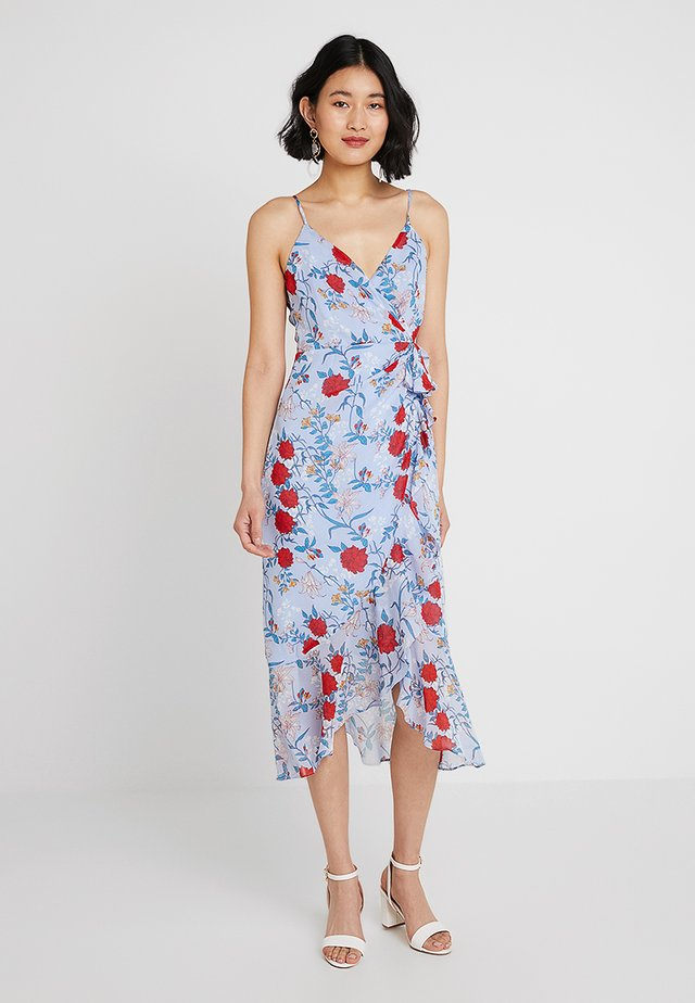 ELLE DRESS - Hverdagskjoler - blue/red
