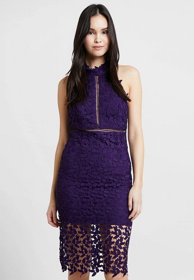 GEMMA DRESS - Juhlamekko - dark purple