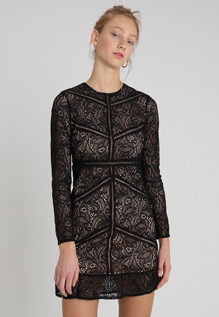 Bardot - SASHA DRESS - Robe de soirée - black