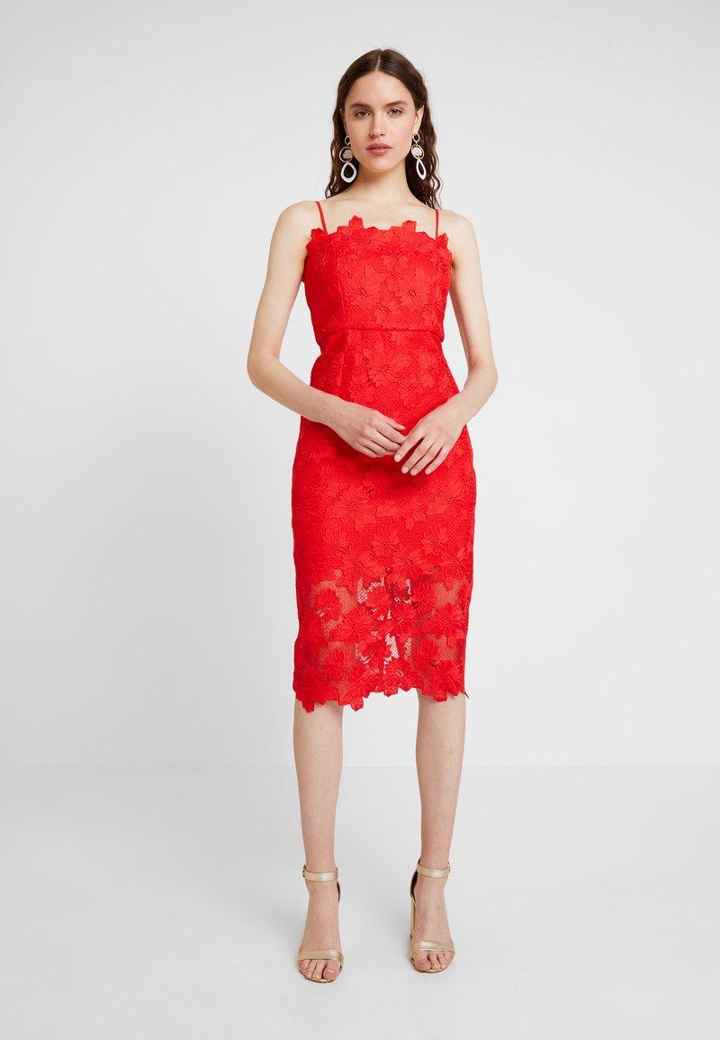 Bardot - SUNSHINE DRESS - Koktejlové šaty/ šaty na párty - fire red