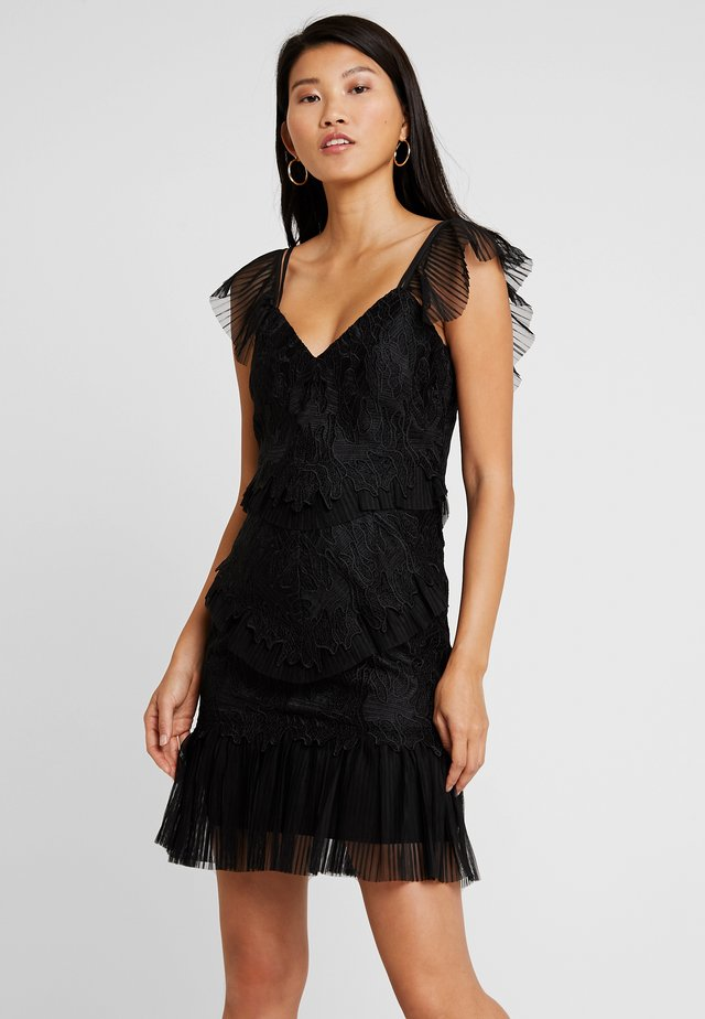 VALORIE DRESS - Cocktailkjoler / festkjoler - black
