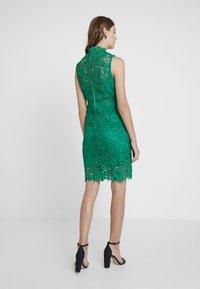 Bardot - ELENI DRESS - Koktejlové šaty/ šaty na párty - green lake - 2