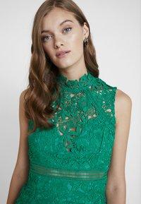 Bardot - ELENI DRESS - Koktejlové šaty/ šaty na párty - green lake - 3