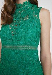 Bardot - ELENI DRESS - Koktejlové šaty/ šaty na párty - green lake - 6